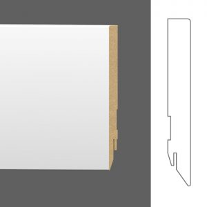 Grindjuostės - Basic 16 x 120 mm (dažymui) / 222611