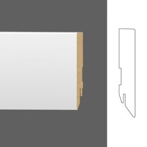Grindjuostės - Basic 16 x 90 mm (dažymui) / 222656